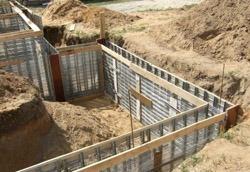 строительные работы фундаменты