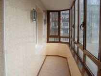 Отделка балкона в Искитиме. Отделка лоджии
